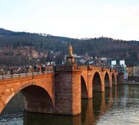 Heidelberg Altstadt - Alte Brücke